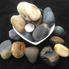 天然鹅卵石雨花石9斤五彩白色大小石头铺路