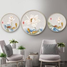 客厅装饰画现代简约沙发背景墙挂画餐厅墙面卧室床头画