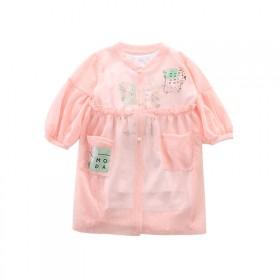 韩版长款超薄透气防晒衣儿童