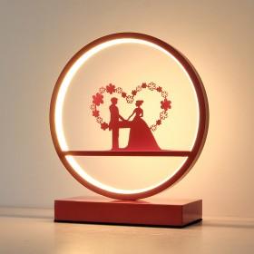 结婚台灯卧室婚房床头灯长明灯结婚礼物浪漫婚庆礼品