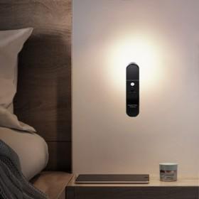 充电人体感应喂奶黑白色壁灯走廊氛围智能LED小夜灯