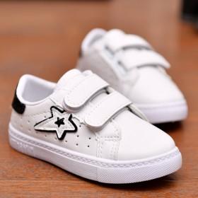 夏新款时尚小白鞋小学生镂空透气低帮板鞋儿童休闲鞋韩