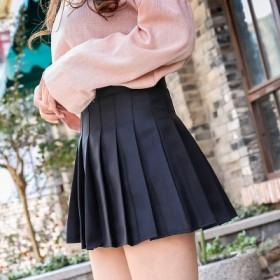 百褶裙女新款高腰短裙韩版网球舞蹈院风夏半身裙