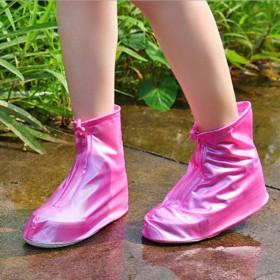雨鞋男女短筒防水鞋套加厚耐磨底雨鞋可爱防滑下雨神器