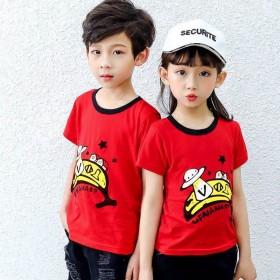 夏季儿童短袖T恤男童纯棉童装女童宝宝韩版夏装上衣