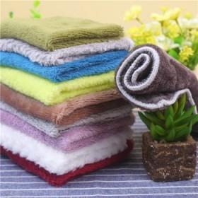 碗布不沾油洗碗巾超细纤维双面吸水抹布小毛巾