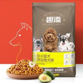 【趣添】狗粮全犬通用型10斤装