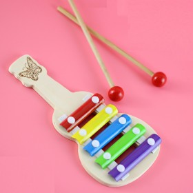 婴幼儿童木制五音手敲琴小木琴