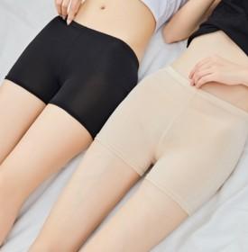 防走光女夏季新款可内外穿冰丝三分保险短裤薄款打底裤