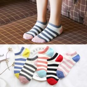 春夏季薄款袜子女韩版纯色浅口隐形女袜可爱短筒韩国