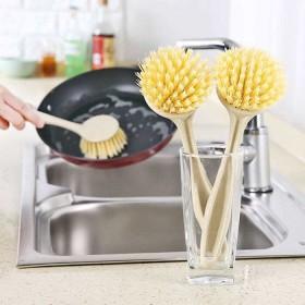 刷锅不伤锅不沾油洗锅刷去污长柄刷厨房清洁刷一只装