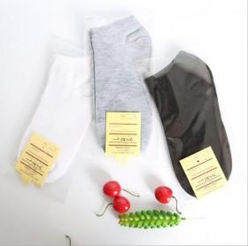 独立包装船袜男女士运动短筒袜纯色浅口袜子