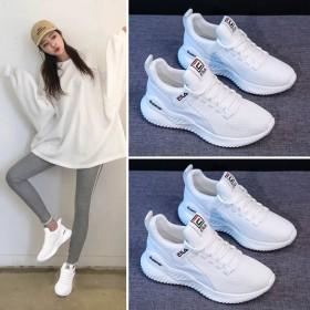 新款女鞋春夏运动鞋女ins百搭休闲老爹鞋网红学生跑