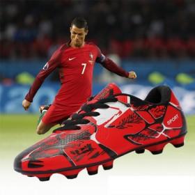 C罗儿童足球鞋男童女孩小学生训练鞋