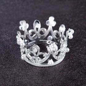 蛋糕装饰皇冠摆件公主儿童女王迷你小皇冠