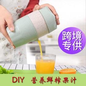 便携手动柠檬榨汁器水果压榨器简易橙子压果汁榨汁机企