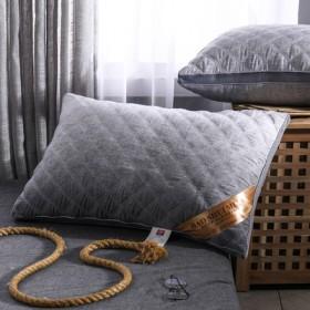 羽丝绒枕头枕芯一只装家用酒店护颈椎枕