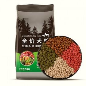 【10斤】狗粮通用型大中小型幼犬成犬牛肉味四拼狗粮