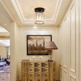 水晶过道灯简约现代走廊灯水晶灯吸顶灯北欧入户玄关灯