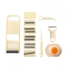 【11件套】多功能切菜器切土豆片切片刨丝器切丝器