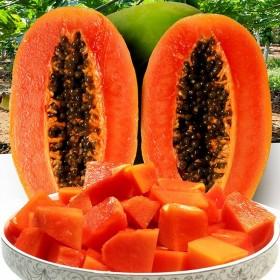 【5斤】新鲜红心木瓜冰糖木瓜超甜牛奶红心木瓜水果