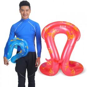 游泳圈成人儿童加厚充气浮圈腋下圈双气囊救生圈泳圈