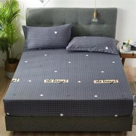 【不褪色不起球】防滑床笠单件床罩棕垫席梦思保护套