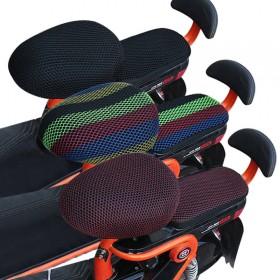 电动车坐垫套自行车套防晒防水座垫套隔热透气电瓶车座