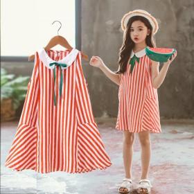 女童纯棉连衣裙夏季新款夏装公主裙儿童裙子