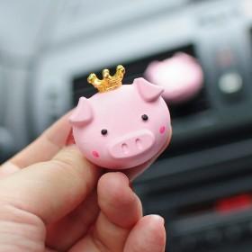 扩香石膏猪猪汽车香水夹