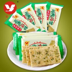 海苔饼干2斤薄脆早餐饼干