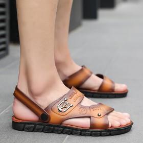 男士凉拖鞋一鞋两穿夏季凉鞋