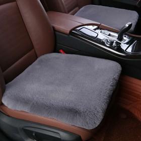 羊毛汽车坐垫毛绒座垫椅子垫沙发垫单座单个