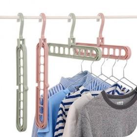 抖音同款 多功能挂衣架防滑魔术晾衣架晾晒洗衣架多层