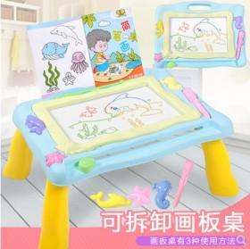 益智儿童磁性画板桌彩色手画板涂鸦绘画板写字板学习