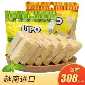 lipo面包干300g 越南进口利葡早餐食品止饿营