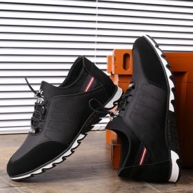 隐形内增高男鞋6cm白色休闲鞋潮鞋镂空透气皮鞋运动