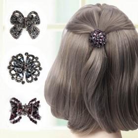 夏季女士发夹后脑勺网红发卡小号女韩国头饰刘海夹头