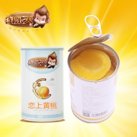 新鲜黄桃罐头对开砀山糖水罐头6罐整箱水果