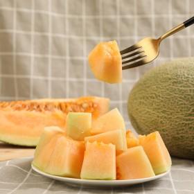 哈密瓜汁甜肉脆鲜果一箱应季8斤西州蜜25哈蜜瓜