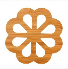 木质卡通隔热垫餐桌防滑锅垫碗垫创意镂空