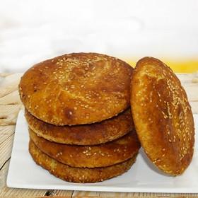 山西特产百年传承传统糕点小吃名点定襄黄烧饼