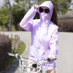 夏季电瓶车防晒衣户外运动服