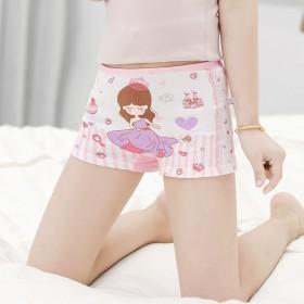 儿童内裤女童纯棉婴儿平角三角1女孩小孩2四角3小童
