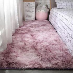 简约可爱网红客厅茶几卧室满铺床边衣帽间长毛水洗地毯