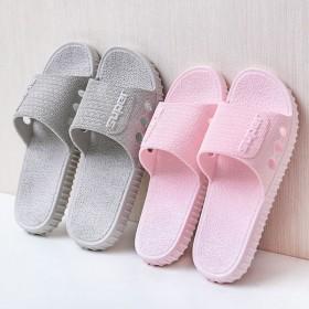 日式室内家用软底拖鞋浴室洗澡防滑情侣外穿凉拖鞋女夏
