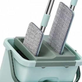 加厚桶保质量】懒人免手洗家用平板拖把旋转拖布地拖木