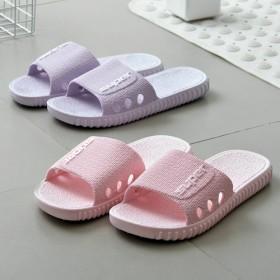 双新品家用室内拖鞋浴室洗澡防滑拖鞋