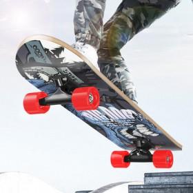 青少年儿童四轮发光滑板