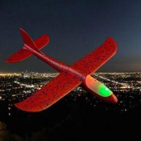 儿童泡沫网红手抛耐摔回旋滑翔机飞行器户外亲子玩具